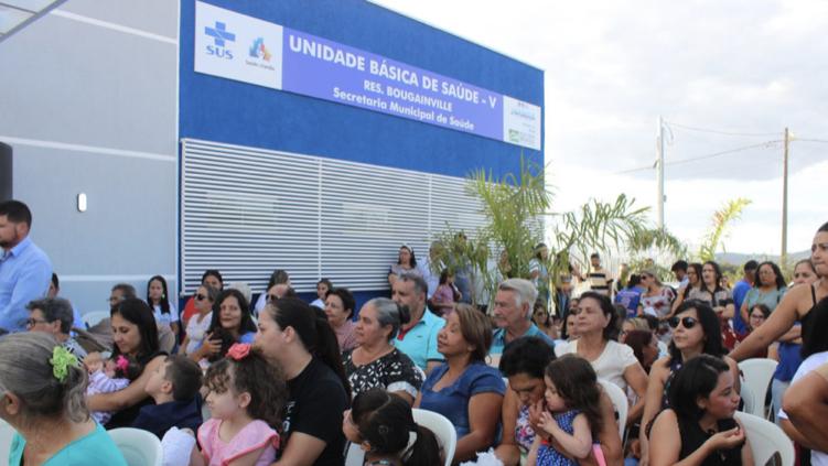 Jaraguá inaugura sua primeira Unidade Básica de Saúde Avançada