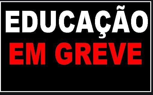 GREVE na Educação Municipal de Jaraguá