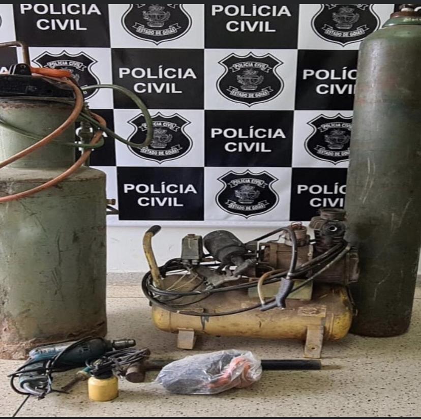 POLÍCIA CIVIL RECUPERA OBJETOS FURTADOS EM POSSE DE RECEPTADOR