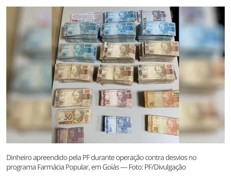 POLÍCIA DESCOBRE ESQUEMA DE FRAUDES CONTRA O PROGRAMA FARMÁCIA POPULAR